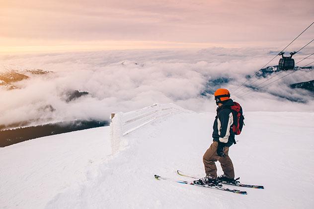 Europa en invierno: estación de esquí de Jasná, Eslovaquia