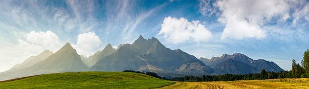 El Parque Nacional del Alto Tatra, en Eslovaquia, es un paraje vertiginoso © Mike Pellinni / Shutterstock