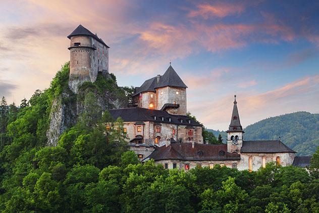 Halloween en Eslovaquia: castillo de Orava