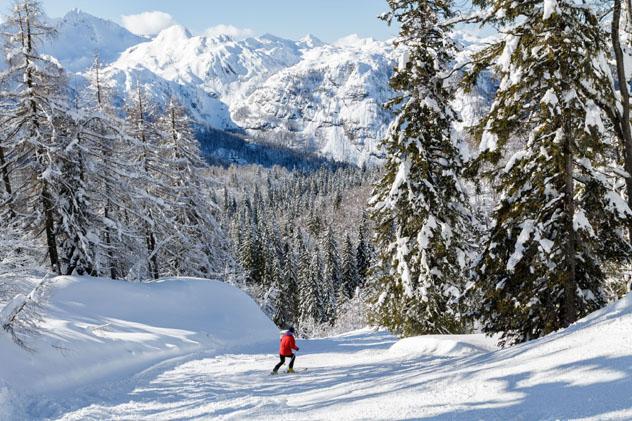 Los Alpes Julianos, Eslovenia, California © Barat Roland / Shutterstock