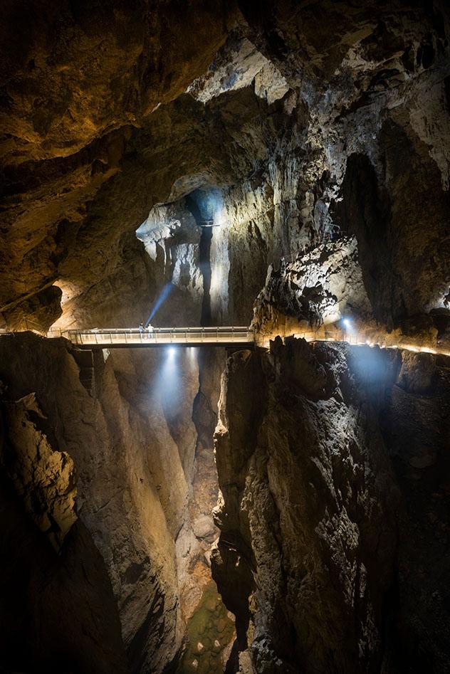 Eslovenia al aire libre: las cuevas de Škocjan