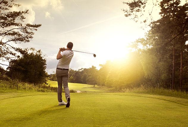 Campo de golf en España