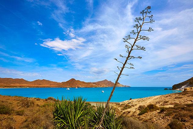 Playa de los Genoveses, Cabo de Gata, Almería, Andalucía, España