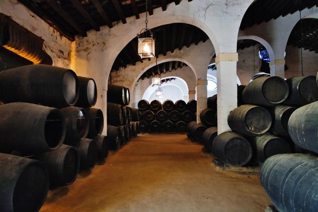 Bodega vino Jerez, Andalucía, España © DeltaOFF / Shutterstock