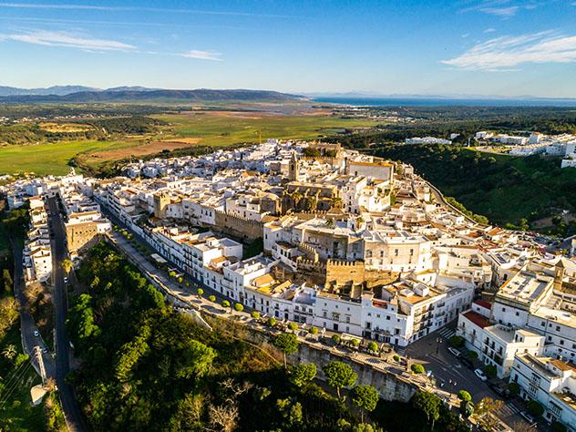 Vejer de la Frontera, Cádiz, un pueblo del interior de Andalucía, España