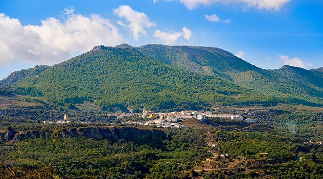 La Alpujarra y valle de Lecrín, Granada, Andalucía, España