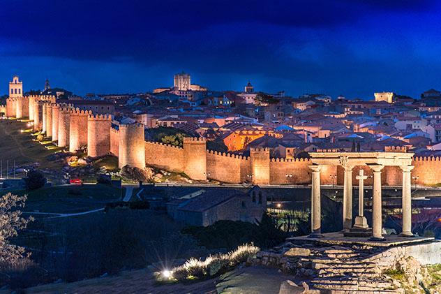 Ávila, ciudad española Patrimonio de la Humanidad