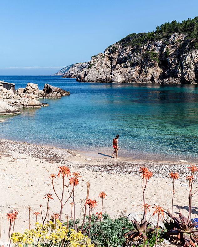Cala d'En Serra, Ibiza, Baleares, España
