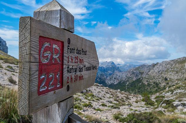 GR221 o Ruta de piedra en seco, Mallorca, Baleares, España