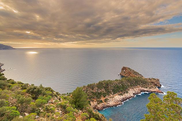 Sa Foradada, Ruta de piedra en seco, Mallorca, Baleares, España