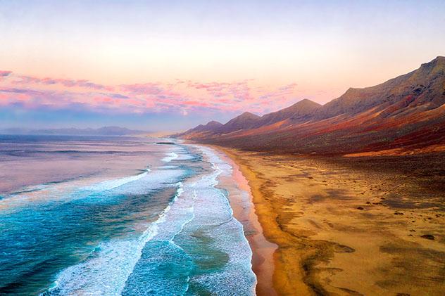 Playa de Cofete, Fuerteventura, Canarias