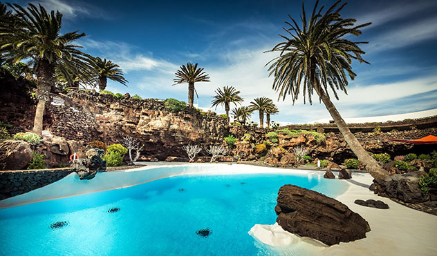 Piscinas en España: Lanzarote, Canarias, España