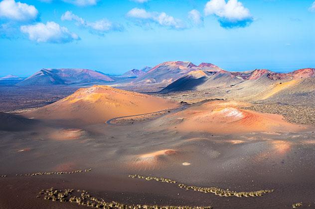 Parque Nacional de Timanfaya, Lanzarote, Canarias, España