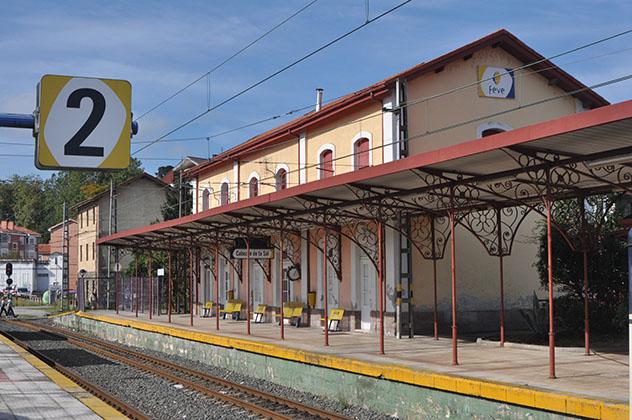 Estación de tren de Cabezón de la Sal, Cantabria, España