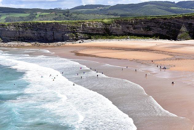 Playa de Langre, Ribamontán al Mar, Cantabria