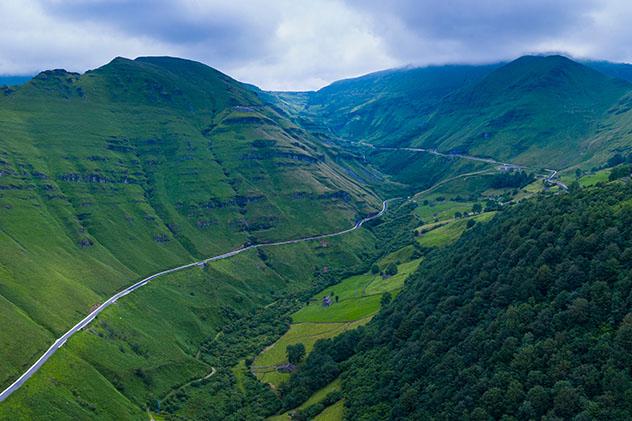 Valle del Pas, Cantabria, España