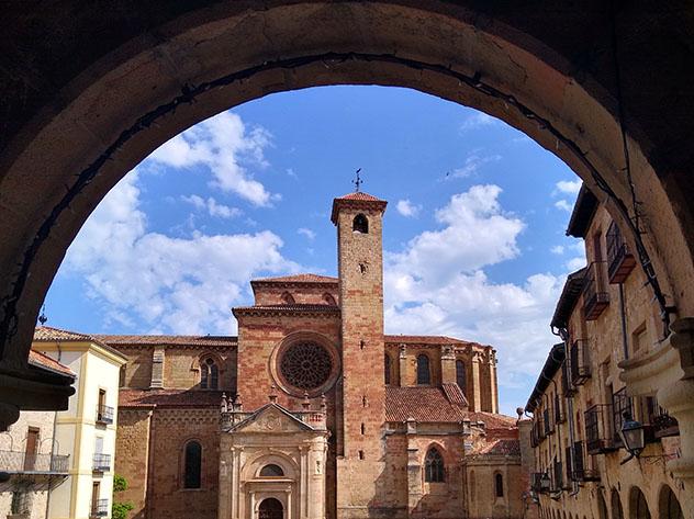 Sigüenza, Guadalajara, pueblo del interior de Castilla-La Mancha, España