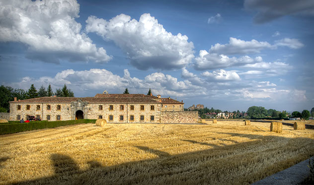 Monasterio de Santa María la Real, Aguilar del Campoo, provincia de Palencia, Castilla y León