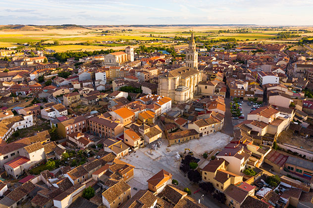 Medina de Rioseco, provincia de Valladolid, Castilla y León, España
