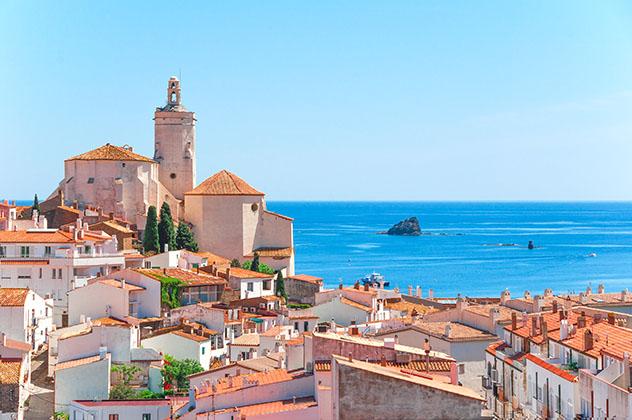 Cadaqués, pueblo de costa de Girona, Cataluña, España