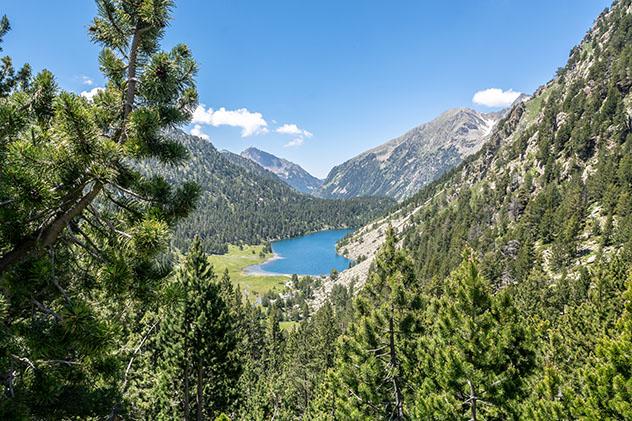Parque Nacional d'Aigüestortes i Estany de Sant Maurici, Lérida, Cataluña, España