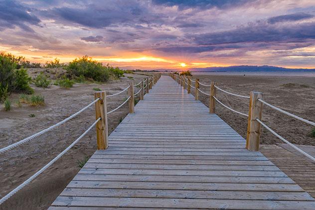 Playa de Riumar, Deltebre, Tarragona, Cataluña