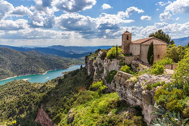 Siurana, Tarragona, pueblo del interior de Cataluña, España