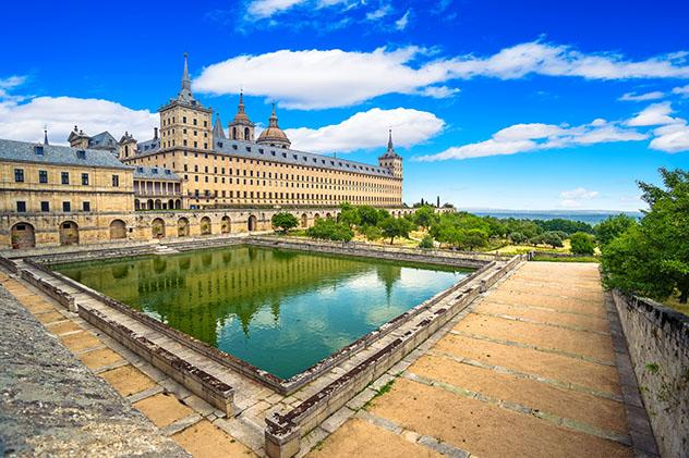 Real Sitio de San Lorenzo de El Escorial, provincia de Madrid, España