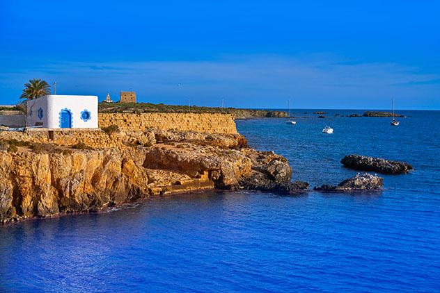 Islas de Europa: isla española de Tabarca