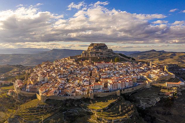 Morella, Castellón, pueblo del interior de la Comunidad Valenciana, España