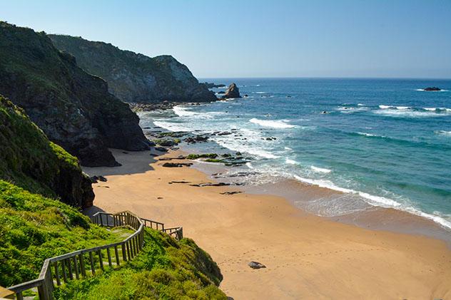 Praia do Picón, A Coruña, Galicia, España