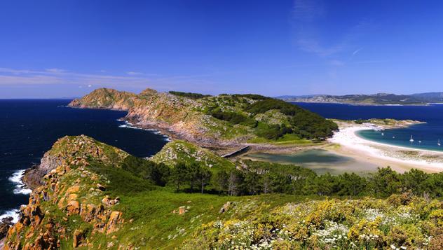 Illas Cíes, Galicia, España © StockPhotoAstur / Shutterstock