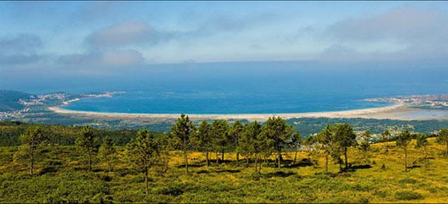 Playas de Galicia: playa de Carnota, Galicia, España
