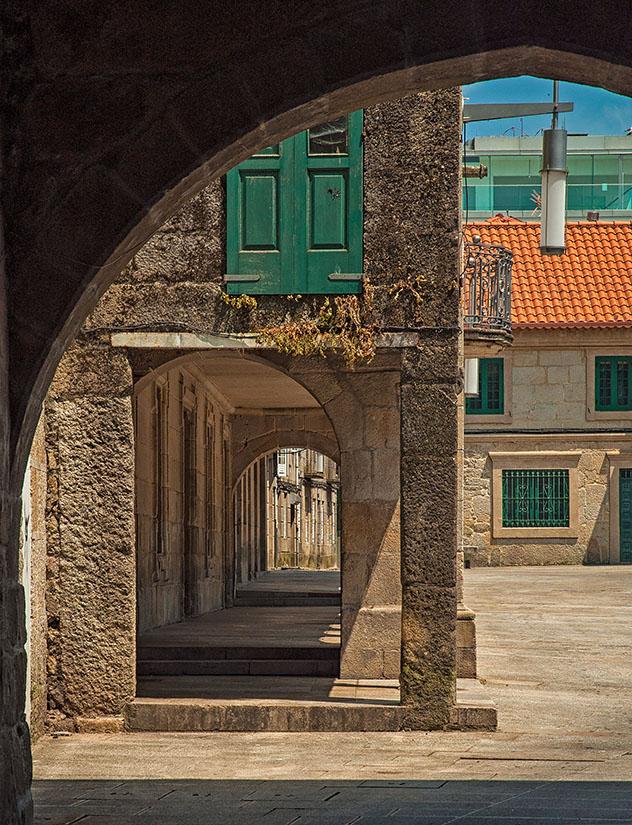 Paseos por Galicia: Casco Vello de Pontevedra, Galicia, España