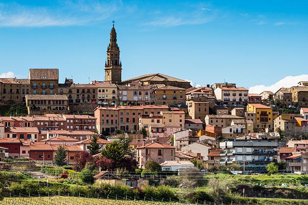 Briones, pueblo del interior de La Rioja, España