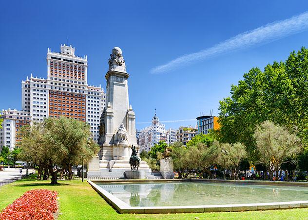Plaza de España, Madrid, España © Efired / Shutterstock