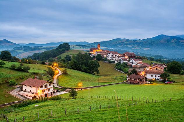Valle de Baztán, Navarra, España