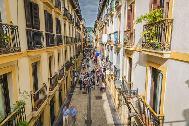 Parte Vieja de San Sebastián, País Vasco, España © marchello74 / Shutterstock