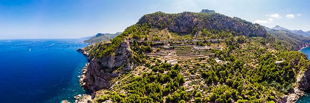 Torre des Verger, Ruta de piedra en seco, Mallorca, Baleares, España
