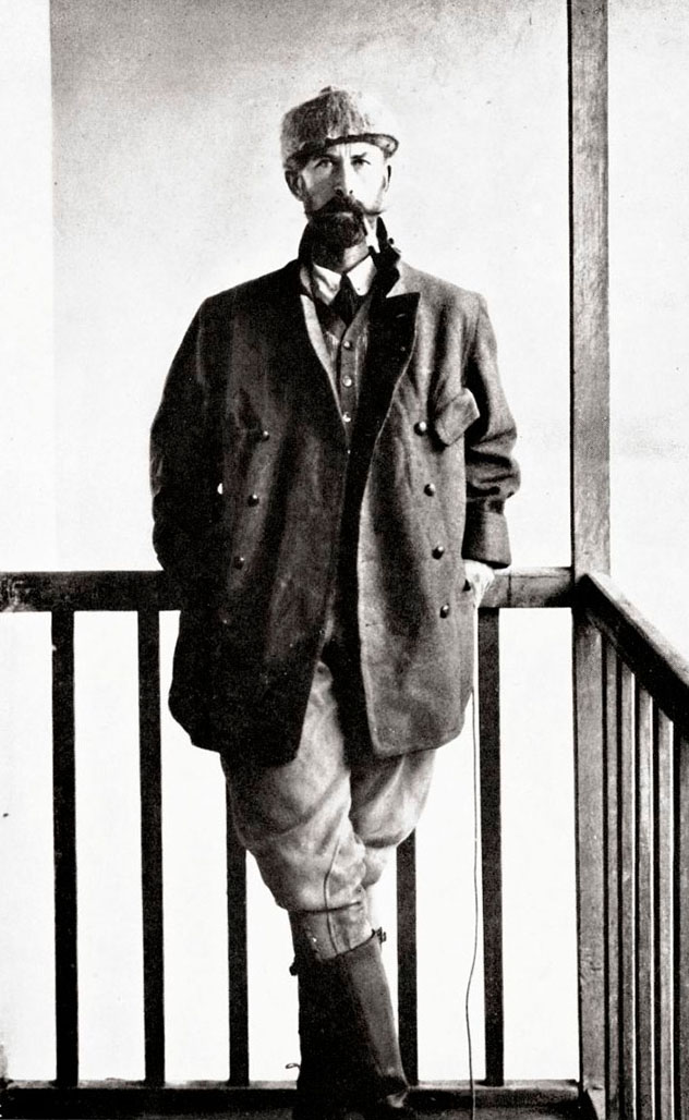 Fotografía del coronel Percy Harrison Fawcet de 1911