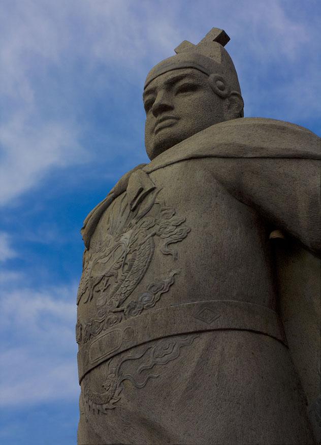 Monumento al almirante Zheng He en Malaca, Malasia