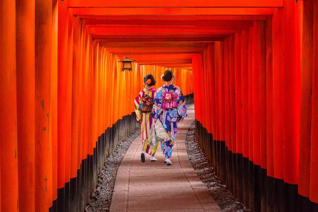 Kioto, Japón © Patryk Kosmider / Shutterstock