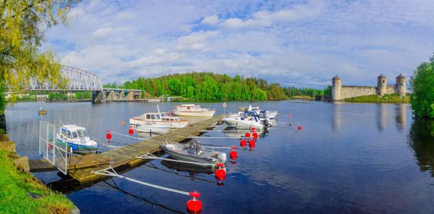 Savonlinna, región de los lagos, Finlandia © RnDmS / Shutterstock