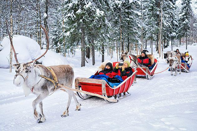 Europa en invierno: Rovaniemi, Finlandia