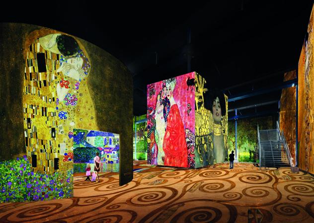 L'Atelier des Lumières, París, Francia © Culturespaces, DR