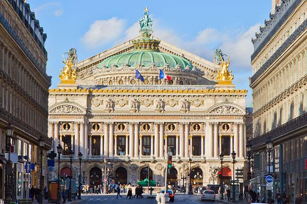 El Palais Garnier, Ópera de París