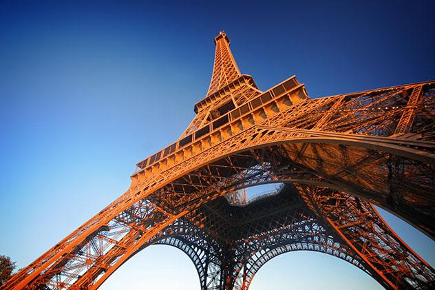 Viaje virtual a la Torre Eiffel, París, Francia