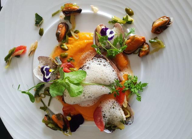 Restaurante Les Terrasses de l'Image, St-Rémy, Provenza, Francia © www.hotel-image.fr