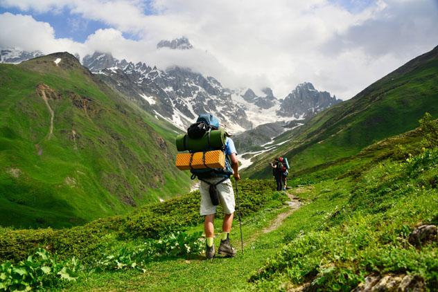 Excursión estival desde Svaneti, Georgia © Maya Karkalicheva / Getty Images