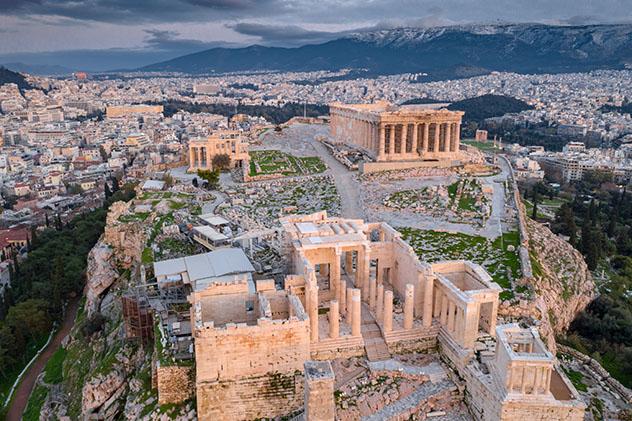 La Acrópolis,Atenas, Grecia
